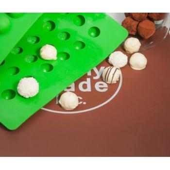 Truffly Made - Classic Round Chocolate Truffle Ganache Molds (12g)