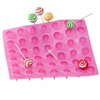 Truffly Made - Lollipop Candy Chocolate Truffle Ganache Molds (28g)