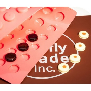Truffly Made - Macaron Chocolate Truffle Ganache Molds (12g)