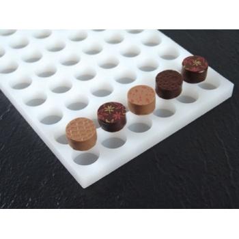 Pavoni Chocoflex Ganache Mold Round - LS01