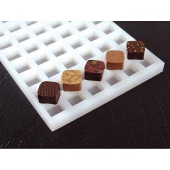 Pavoni Chocoflex Ganache Mold Square - LS02