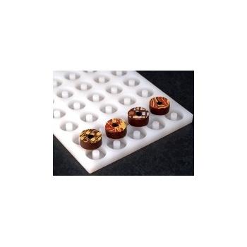 Pavoni Chocoflex Ganache Mold Ring - LS06