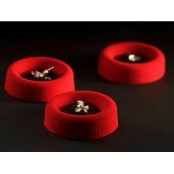 Pavoflex Professional Silicone Mold Mini Round Savarin - PX045