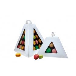 Macaroon Pyramide Display with Box - Holds 9 Macarons