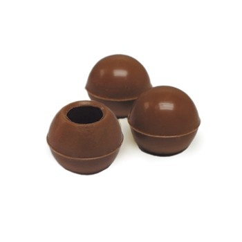 Belgian Chocolate Cups - Truffle Shells Milk Ø25Mm - 504 Pces