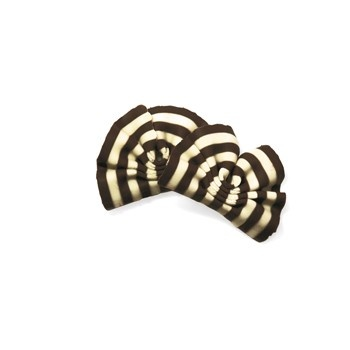 Belgian Chocolate Decoration Forest Shaving Dark/White - 250 Pces