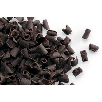 Belgian Chocolate Curls - Blossom Curls Dark -12Lbs