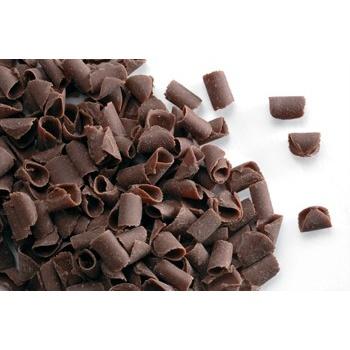 Belgian Chocolate Curls - Blossom Curls Milk -12Lbs