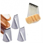 Basketwave and Ribbon Pastry Tips